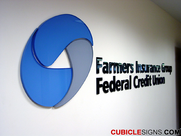 Dimensional Graphic, Sign Type: Lobby Logo